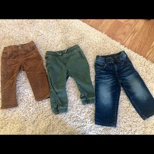 GYMBOREE 12-18mo Pants - 3 Pair